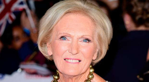 Contender: Mary Berry