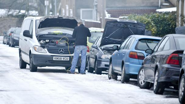 Half of all motorists do not know how to jump-start a flat battery, Halfords said.
