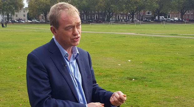 Tim Farron criticised the Government over education funding