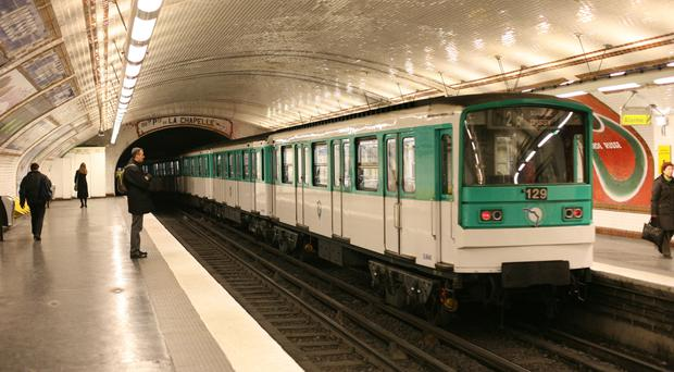 The four Chelsea fans were convicted over an incident on the Paris Metro