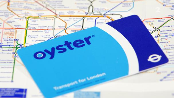 The man wanted to top up his Oyster Card