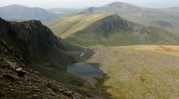 Walkers have been urged to be prepared for winter weather in Snowdonia