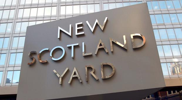 Scotland Yard detectives released chilling footage of the stabbing in a bid to trace the attackers