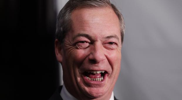 The honour for Nigel Farage would be