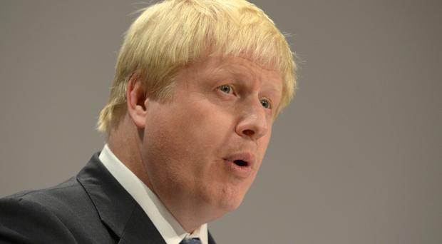 Boris Johnson is expected to fly out to Geneva on Wednesday for the United Nations-led conference