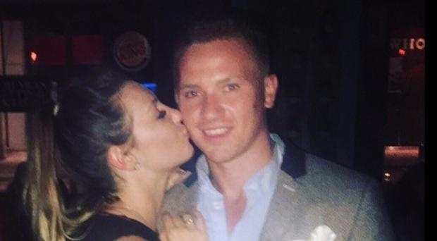 April Oliver, girlfriend of missing 23-year-old Corrie McKeague (right), has revealed she is expecting his child (PA/BBC)