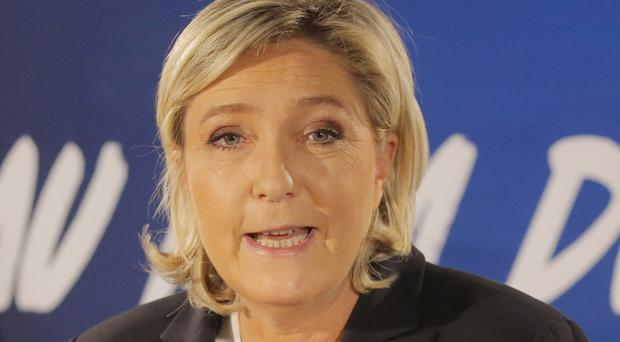 Marine le Pen is a divisive figure (Michel Euler/AP)