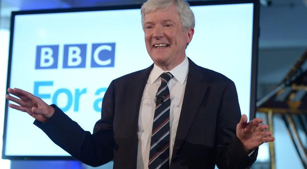 Director-general Lord Hall said he will be pouring all his energies into 'reinventing the BBC for a new generation'