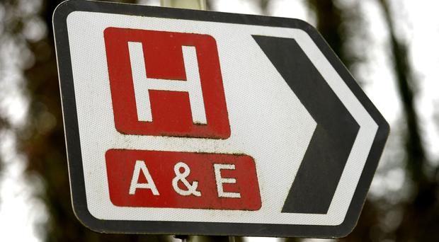 Hospitals issued operational pressure alerts as A&E departments became overwhelmed