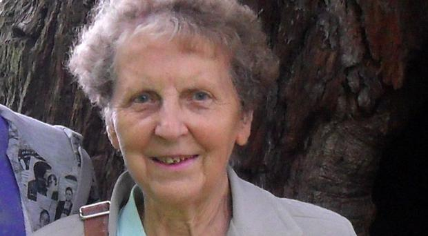 Widowed mother-of-nine Norma Bell was found in her terraced home in Hartlepool after a fire (Cleveland Police/PA)