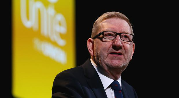 General Secretary Len McCluskey is bidding to be re-elected