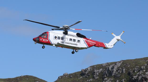 The Coastguard said it was a large-scale search and rescue effort in which multiple agencies worked together