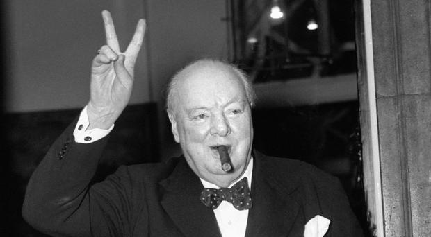 The collection of more than 1,000 signatures includes Sir Winston Churchill's authograph