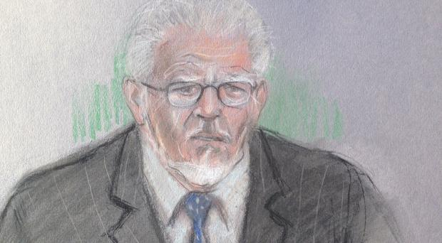 Rolf Harris denies the charges