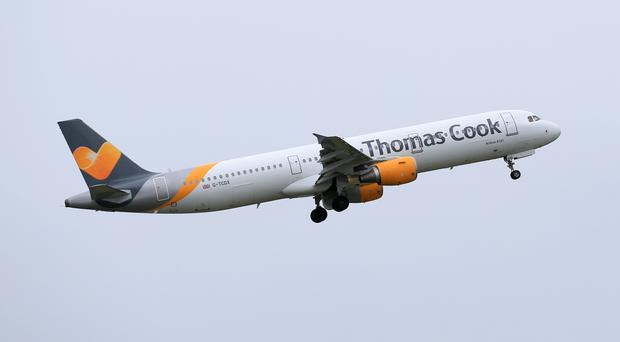 Thomas Cook said the first flight back from the country - since it triggered contingency plans to return customers - had departed after a short delay, and will land in Manchester on Wednesday evening