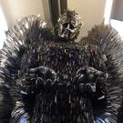 Sussex Police is the latest force to offer its support for the Knife Angel being created by the Shropshire-based British Ironwork Centre