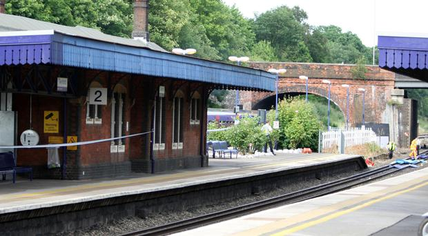 The incident happened at Twyford station in Berkshire on April 7 last year