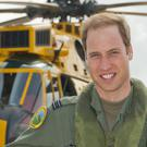 William will stand down from his role as a helicopter pilot for an air ambulance service in the summer