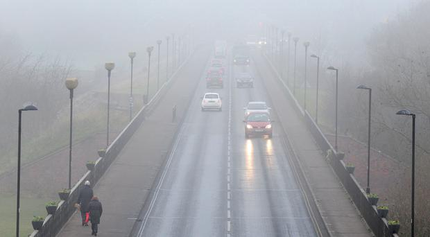 Freezing fog has been predicted for many areas as the cold weather continues