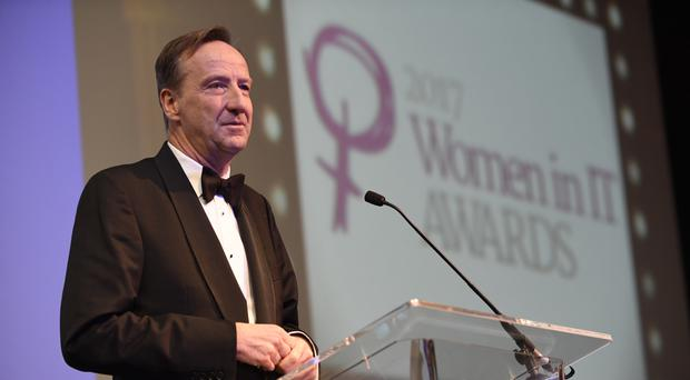 Sir Alex Younger said the real-life Q is a woman (Women in IT Awards/PA)