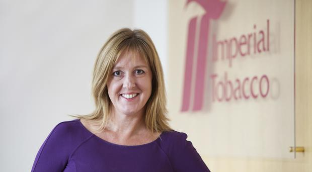 Alison Cooper, chief executive of Imperial Brands