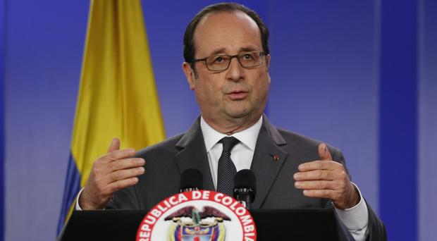 Francois Hollande decided not to seek a second term as president after a reign plagued by terror attacks (AP)