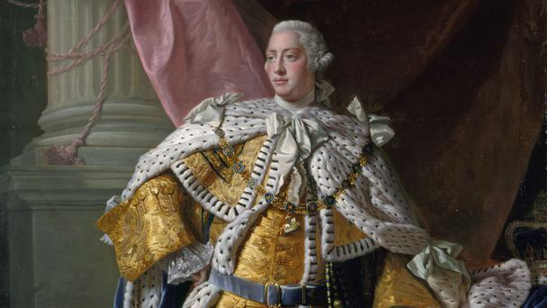 The draft abdication written by King George III is going on display for the first time (Royal Collection/PA Wire)