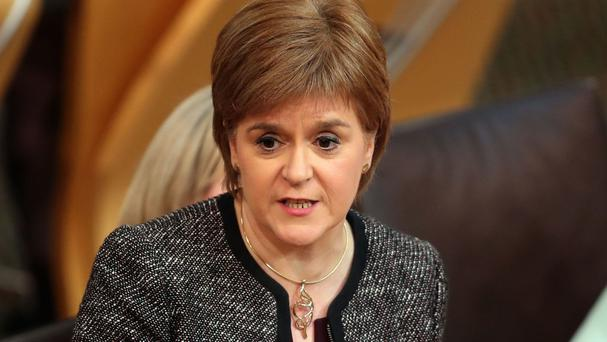 Scotland's First Minister has urged Mrs May to take into account the views of the Scottish people
