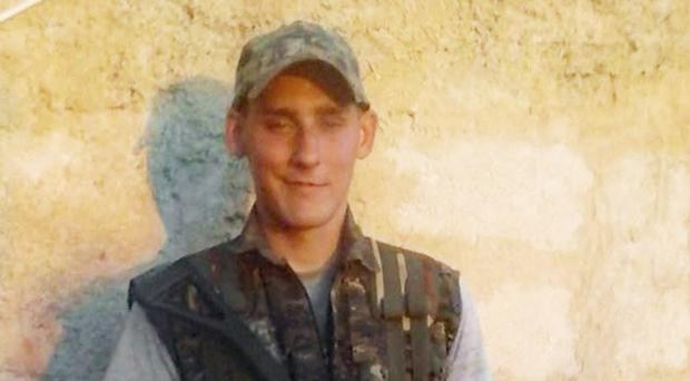 Ryan Lock is said to have died during an offensive by anti-IS forces in a bid to retake the city of Raqqa