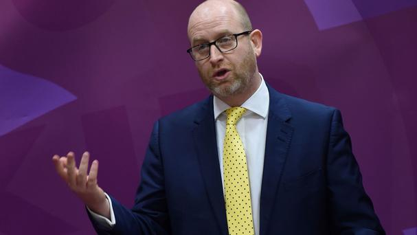 Paul Nuttall is using the rented property in Penkhull, Stoke-on-Trent, as a place to live ahead of the poll, said Ukip