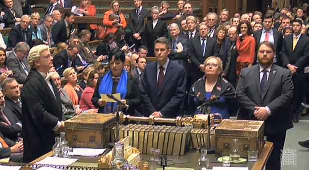 The Commons voted in favour of legislation to allow Theresa May to start formal Brexit talks