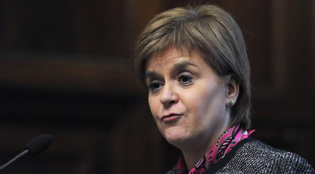 First Minister Nicola Sturgeon's talk of indyref2 is diverting attention away from her own failure, according to Sir Michael Fallon