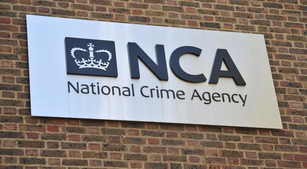 The National Crime Agency said a man and a woman were arrested in London on January 19