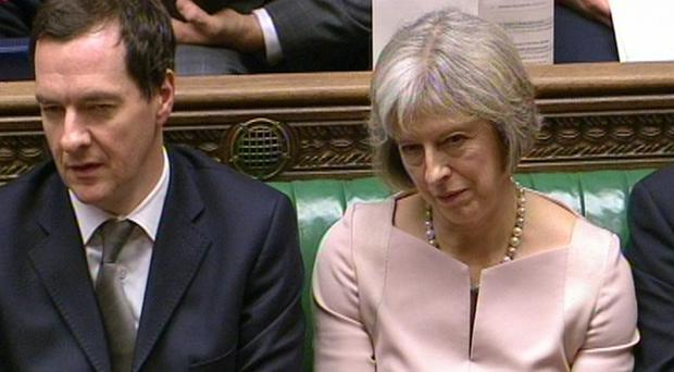 One of Theresa May's first acts as Prime Minister was to sack George Osborne