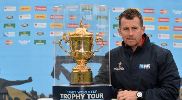 Nigel Owens refereed the 2015 Rugby World Cup final between New Zealand and Australia