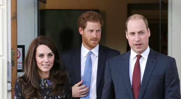 The appearance is part of the royal trio's Heads Together campaign