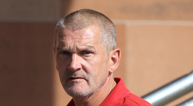 Peter Scotter leaves Newcastle Crown Court