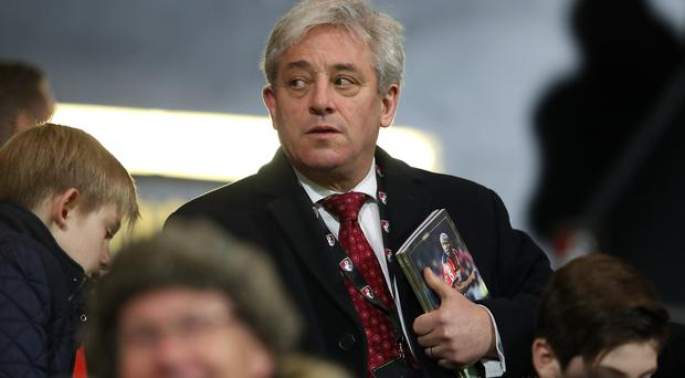 John Bercow says addressing both Houses of Parliament during a state visit is not an
