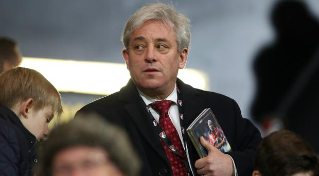 John Bercow says addressing both Houses of Parliament during a state visit is not an 'automatic right'