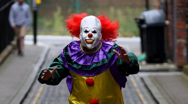 The teenager was taking part in the so-called killer clown craze