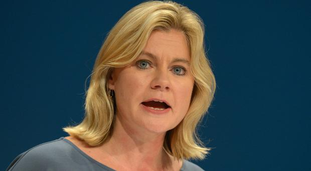 Education Secretary Justine Greening said the consultation response was not 'an overwhelming flood of negativity', according to the GSHA document