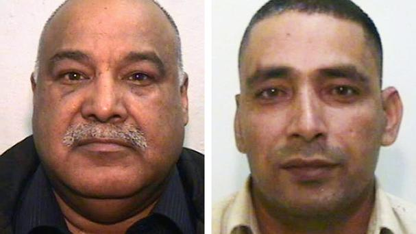 Shabir Ahmed and Adil Khan (Greater Manchester Police/PA)
