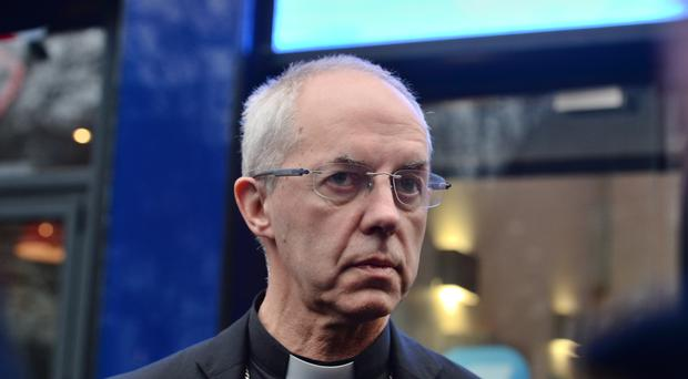 The Archbishop of Canterbury has said he is