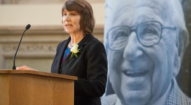 Barbara Winton, the daughter of Sir Nicholas Winton, who has called on Theresa May to reverse the closure of the Dubs refugee scheme.