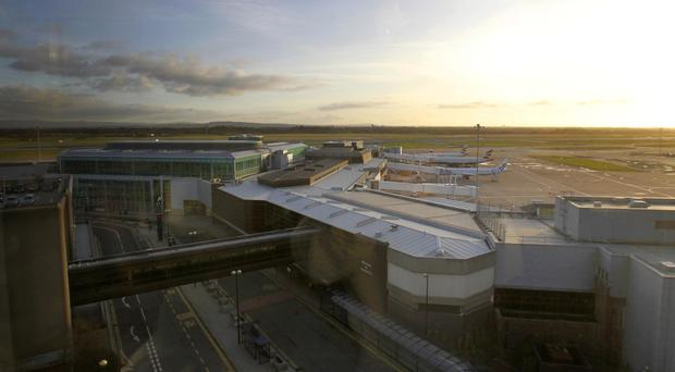 The package was seized at Manchester Airport
