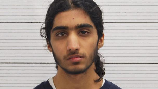 Humza Ali was convicted of trying to join Islamic State in Syria