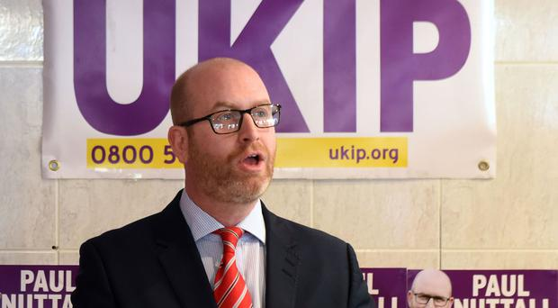 Paul Nuttall is standing for Parliament