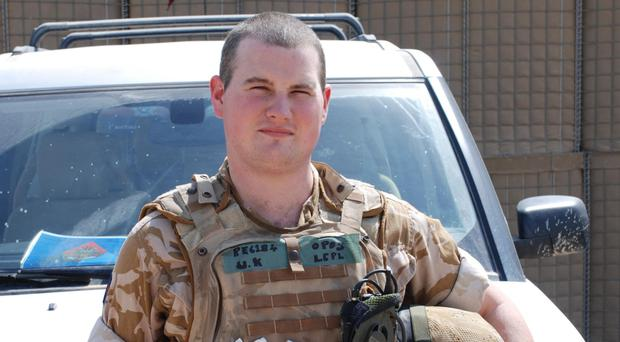 Lance Corporal Kirk Redpath died when a bomb exploded next to his poorly-armoured Snatch Land Rover in Iraq in August 2007 (MoD/PA)