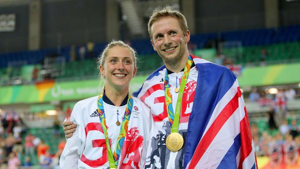 Jason and Laura Kenny married in September.