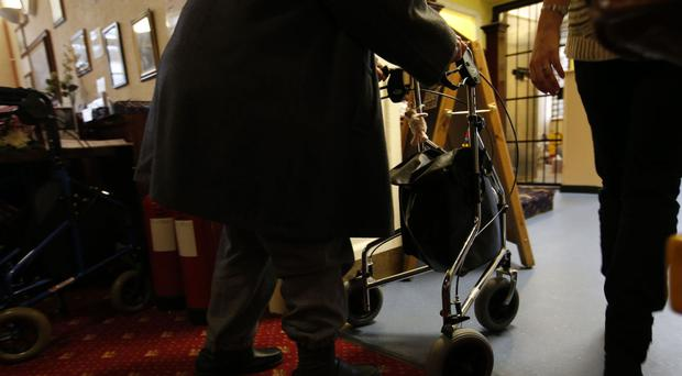 Many elderly people are not getting the help they need with bathing, eating and dressing, a report has found